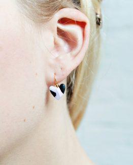 Elegant - Heart Earrings