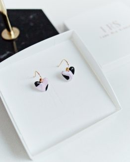 Elegant - Heart Earrings