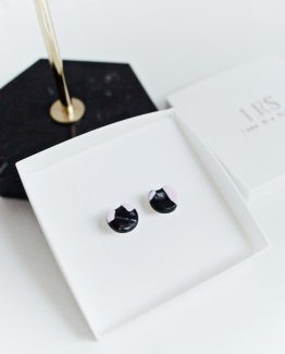 TAKE A BITE - Stud Earrings