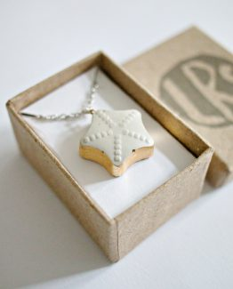 Concrete Star Necklace