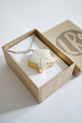 Concrete Star Necklace