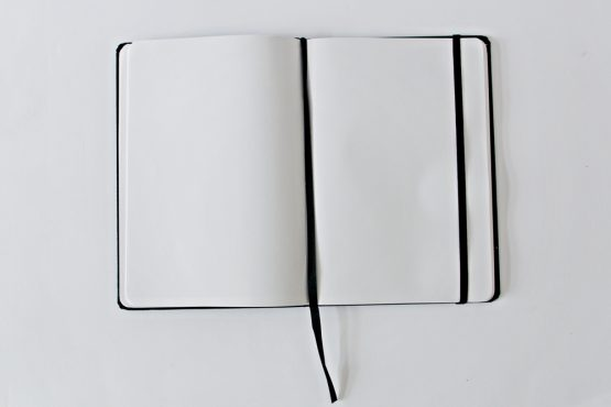 Origami Embroidered Notebook