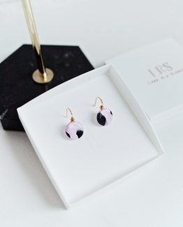 Elegant - Disc Earrings