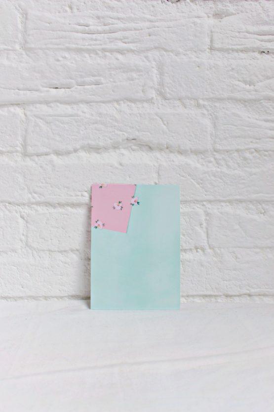 Art Card - Greeting Card Back Portrait