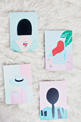 GRL PWR Cards - Set of 4