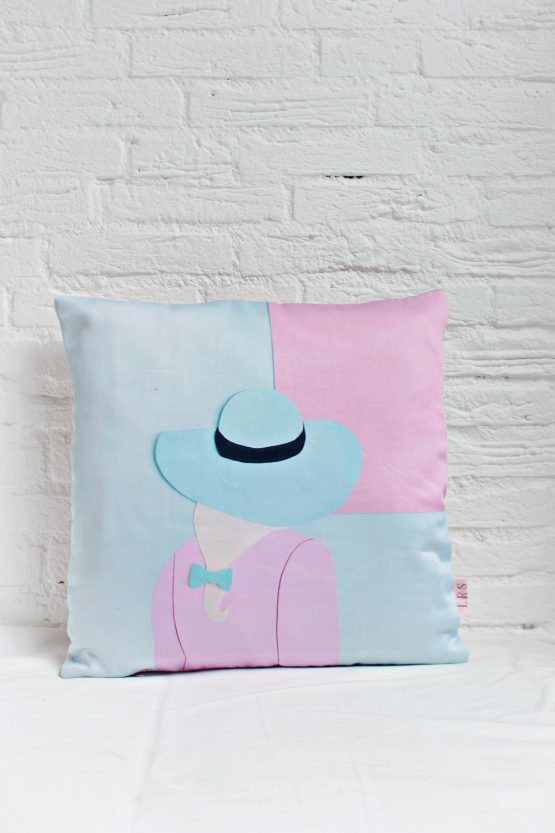 Handmade Pillow Cover - GRL PWR Hat
