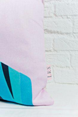 Handmade Pillow Cover - GRL PWR Braid