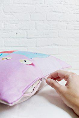 Handmade Pillow Cover - GRL PWR