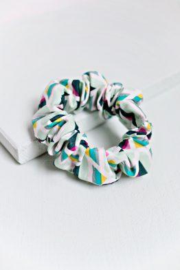 Hair Scrunchie - Geometric