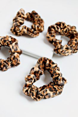 Hair Scrunchie - Leopard