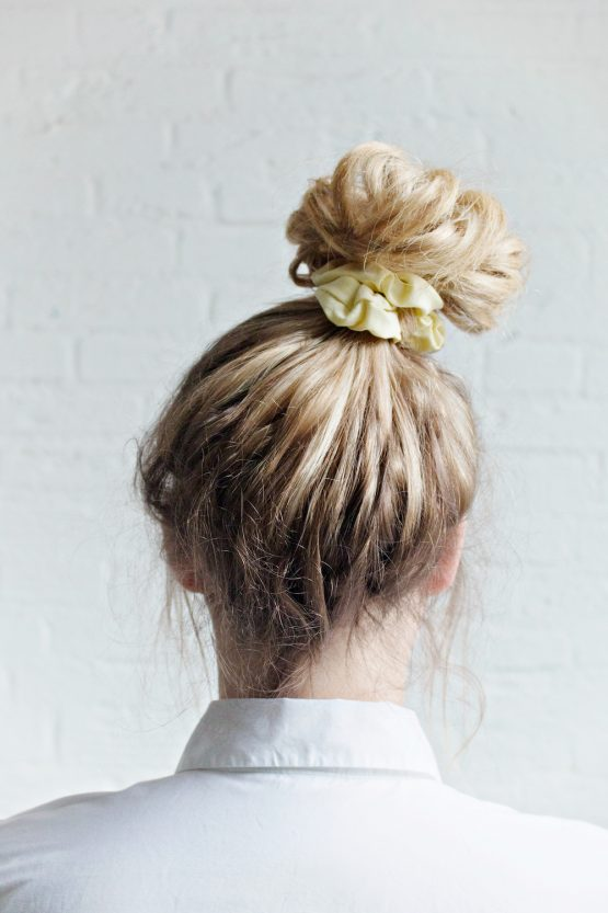Hair Scrunchie - Yellow